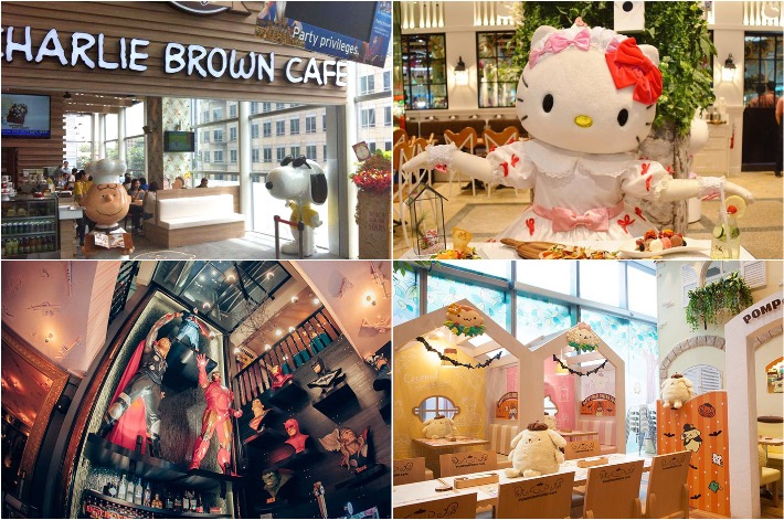 Character Themed Cafes Singapore