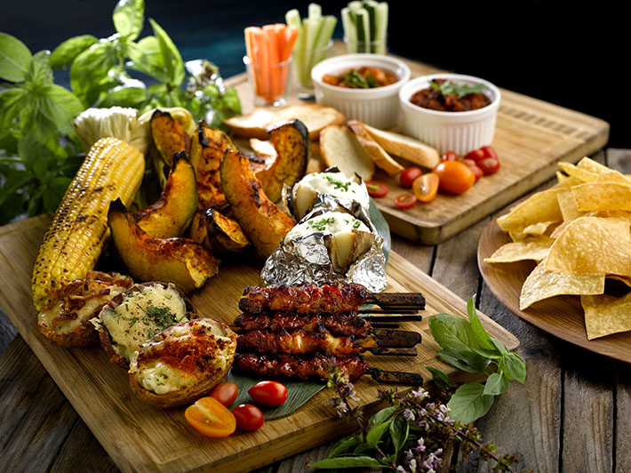 Cocobolo BBQ sides and appetisers