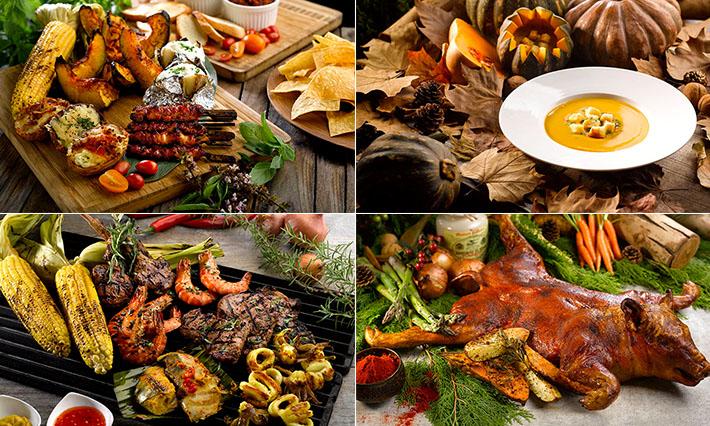 Cocobolo Festive Barbecue Buffet Park Hotel Clarke Quay