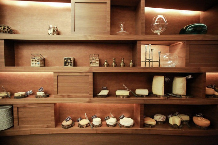 Hilton Singapore Cheese Room
