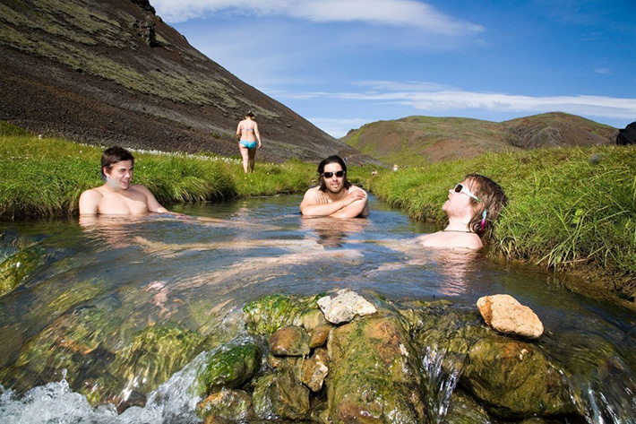 Iceland Geothermal Pools
