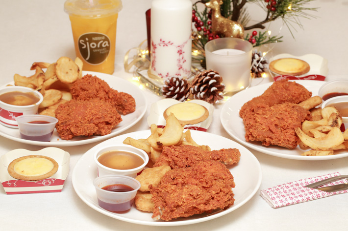 KFC Singapore Red Hot Chicken