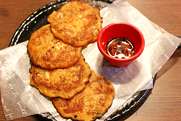 Kimchi Pancakes Nyam Nyam