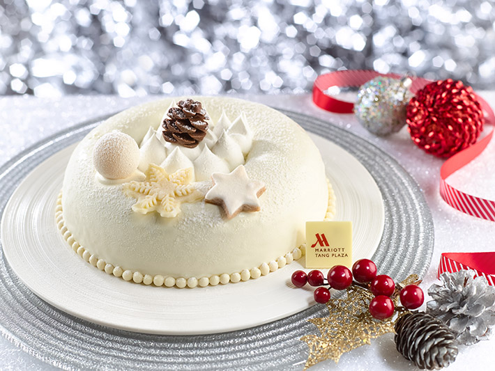 Marriott Pandan Vanilla Snow White Cake
