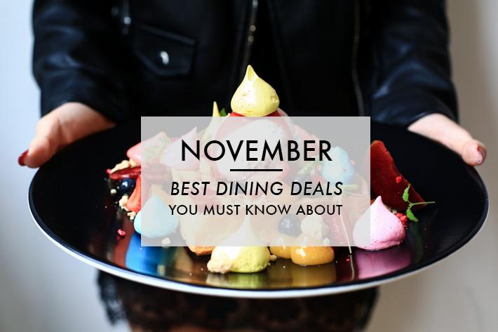 November Dining Deals