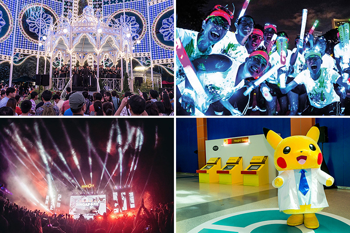 Singapore December Events