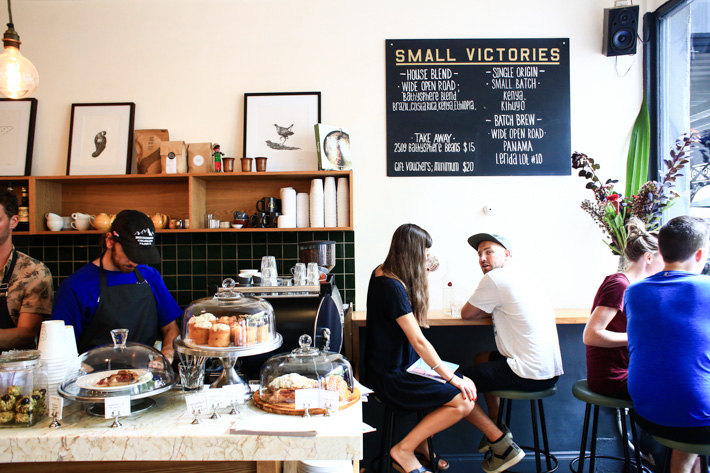 Small VIctories Cafe