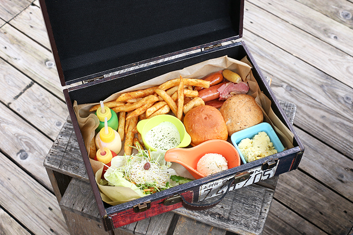TankQ Cafe Bruch Suitcase