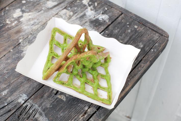 Artbox Pandan Waffle