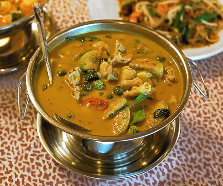Beerthai House Green Curry