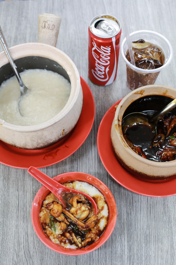 Frog Leg Porridge Coke