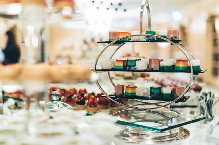 Fullerton Hotel Dessert Table