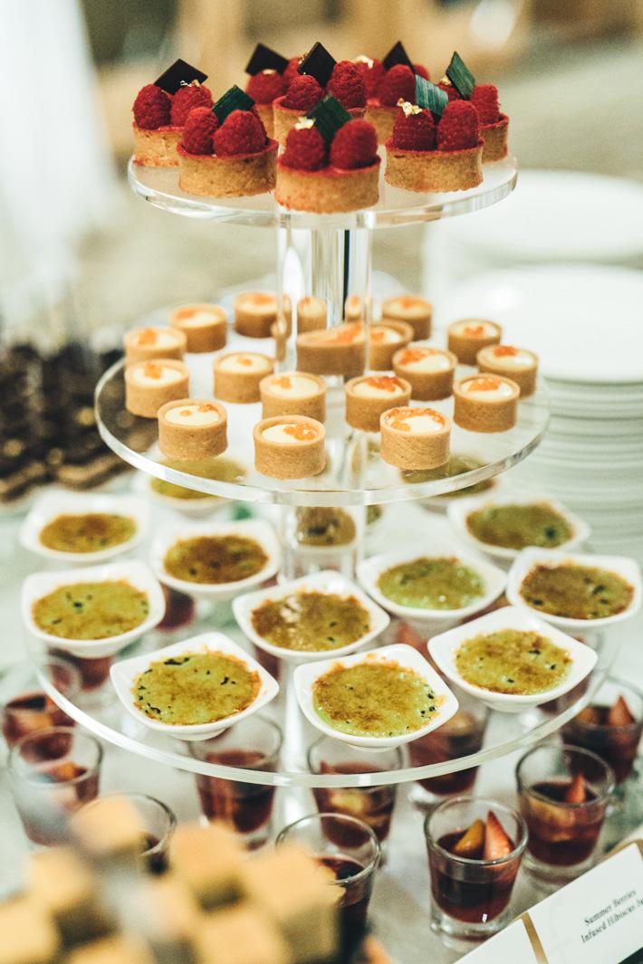 Fullerton Hotel Singapore Dessert Table