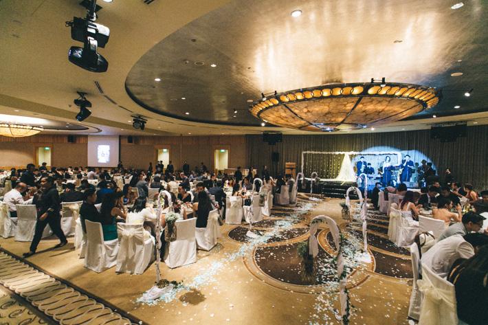 Fullerton Hotel Singapore Wedding
