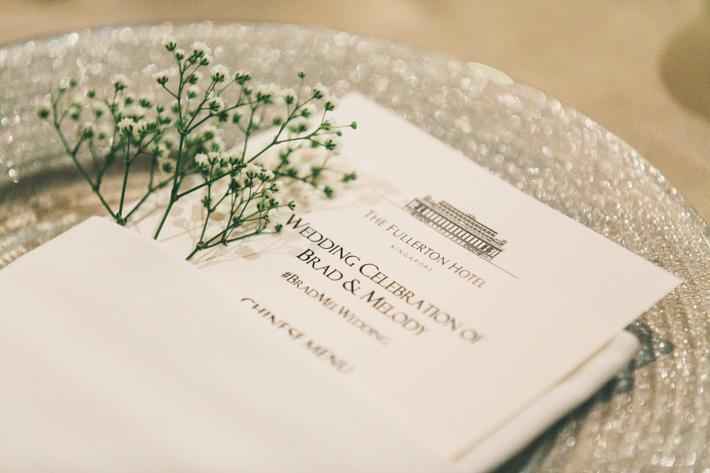 Fullerton Wedding Banquet Menu