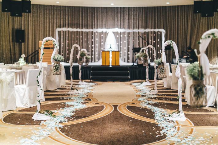 Fullerton Wedding Stage