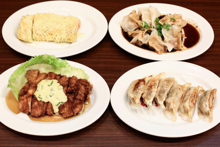 Hachifukumaru Ramen Appetisers