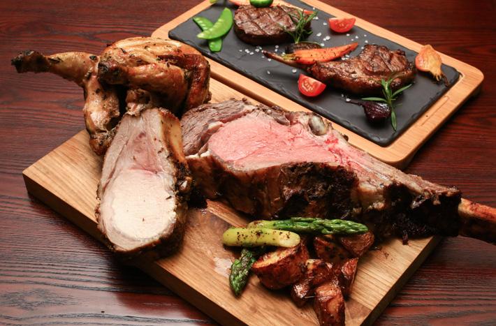 Hilton Brunch Grilled Meat