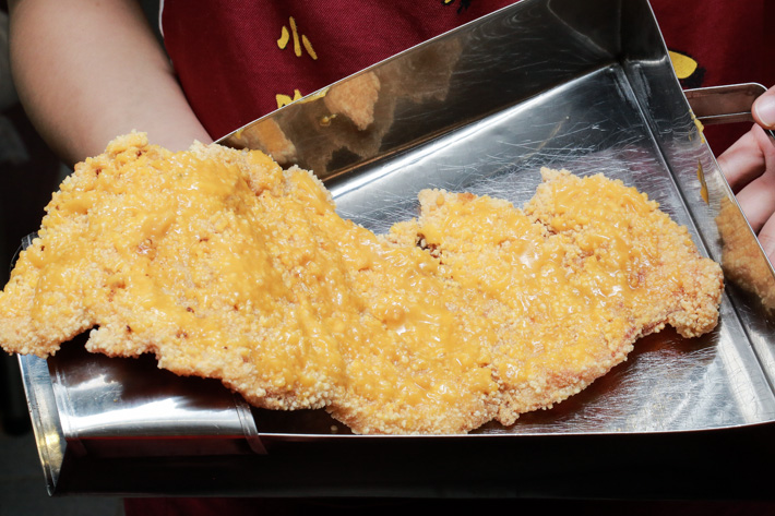 Salted Egg Yolk Crispy Chicken Shihlin