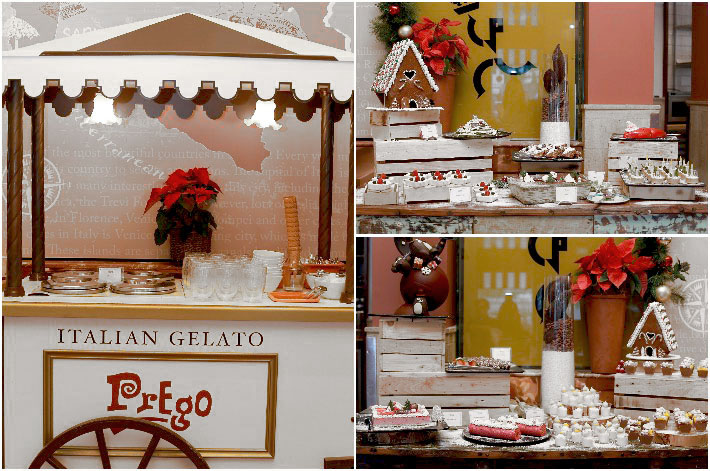 Prego Dessert Station