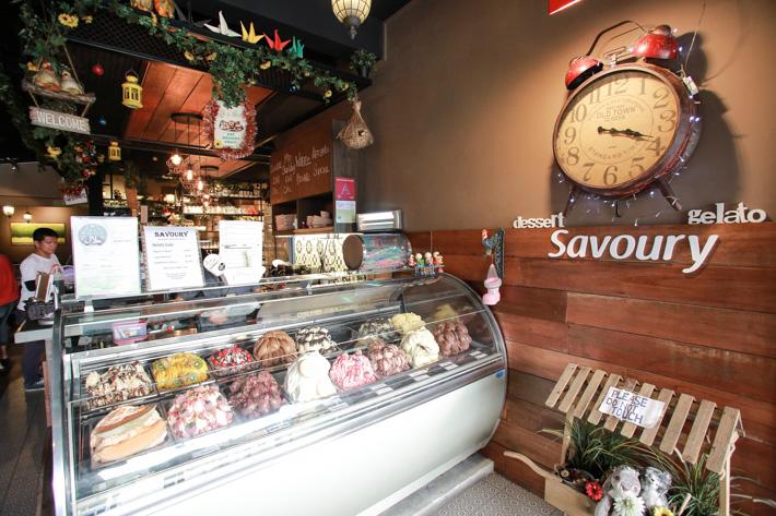 Savoury Gelato Bar