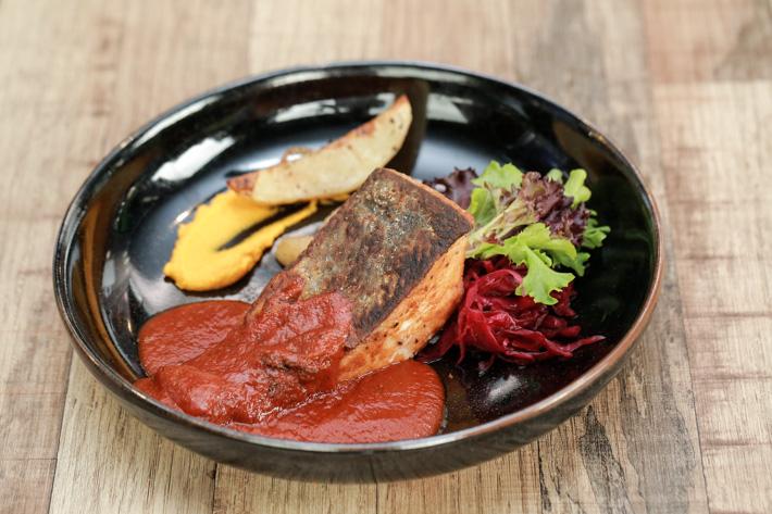 Savoury - Pan fried Salmon