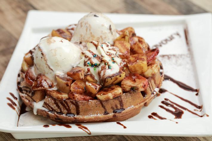 Savoury - Waffle