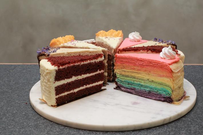 Twenty Grammes Rainbow Crepe Cake