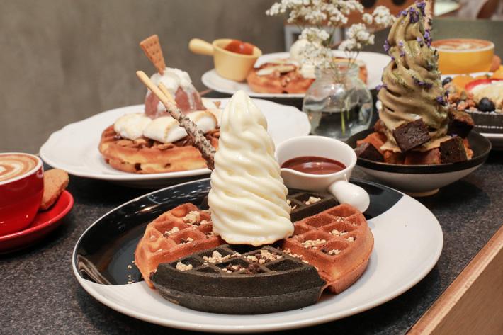 Twenty Grammes Yuan Yang Waffle