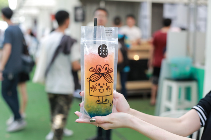 Artbox Colourful Drink