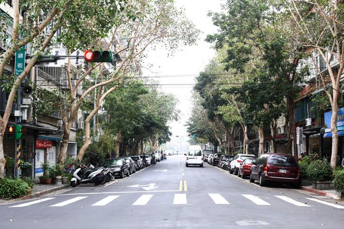 Taipei Fujin Street