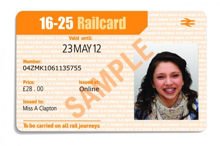 16-25 Railcard