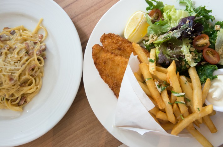 Kith Cafe Fish and Pasta