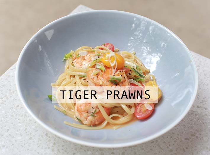 Bee's Knees Tiger Prawns