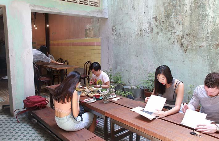 Chocha Cafe Courtyard