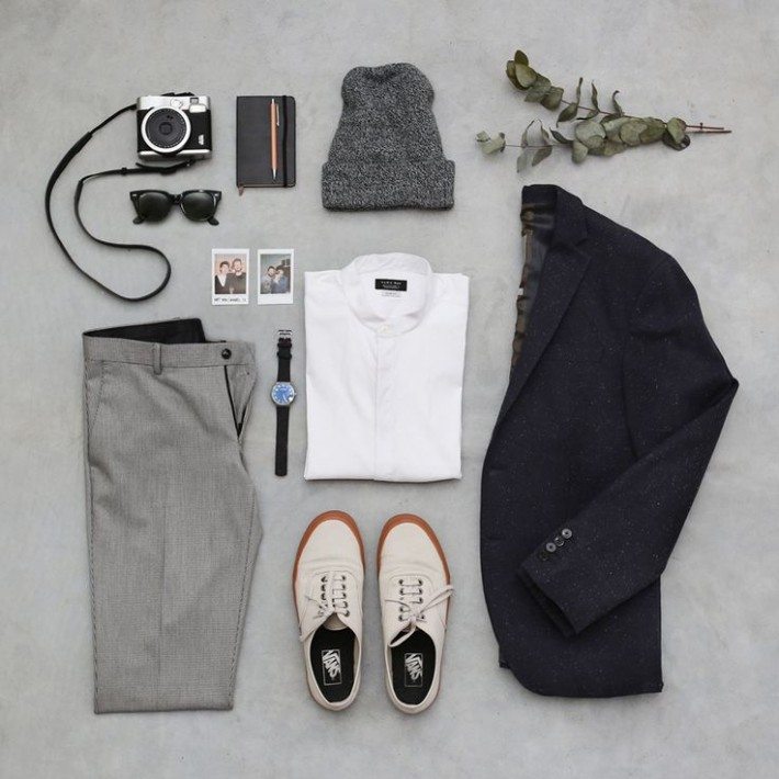 Neat Clothes Flatlay