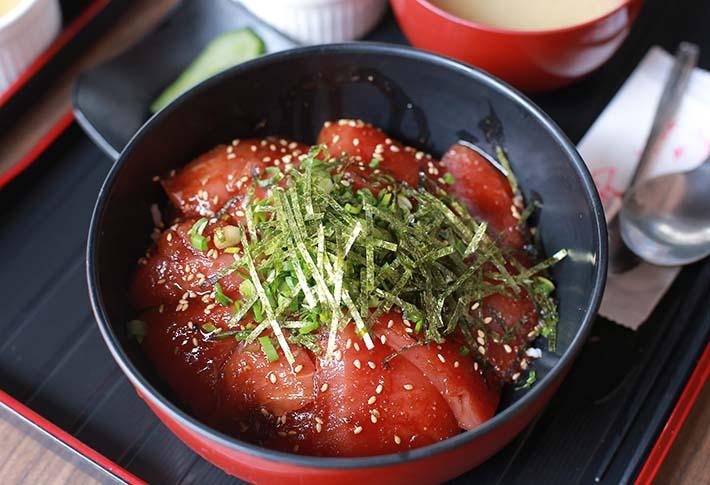 Spicy Tuna Sashimi Don