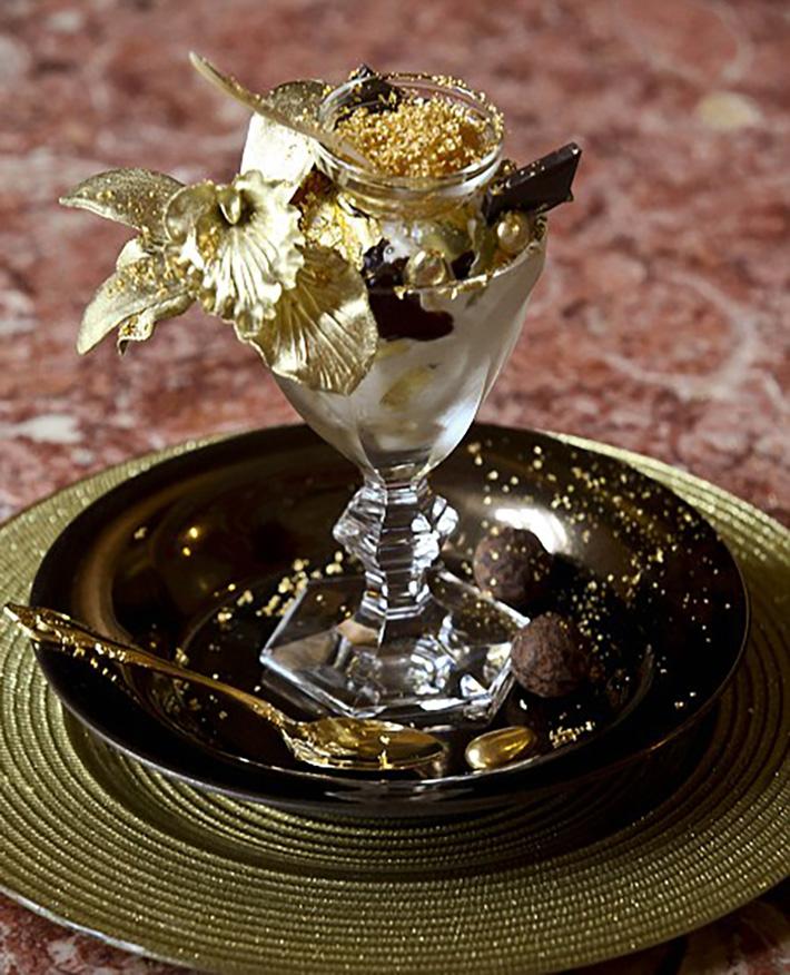 gold sundae
