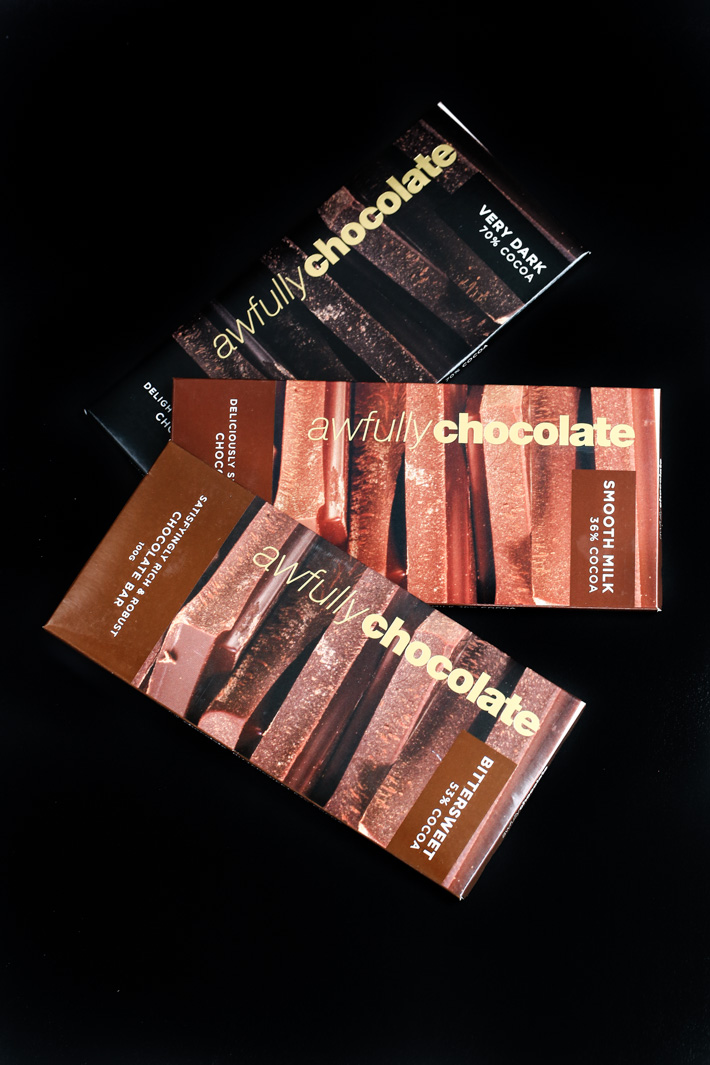 Awfully Chocolate Chocolate Bars