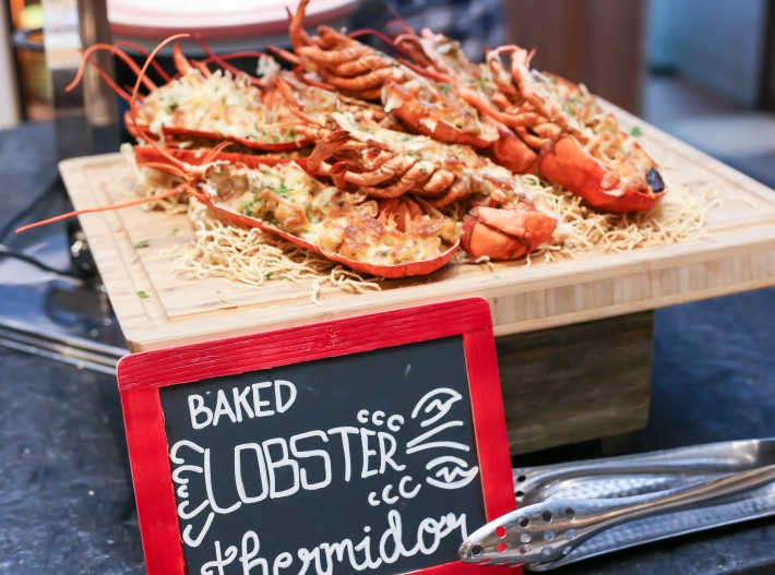 J65 Baked Lobster Thermidor