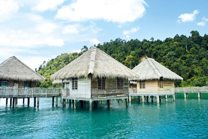 Telunas Beach Resort Batam Huts