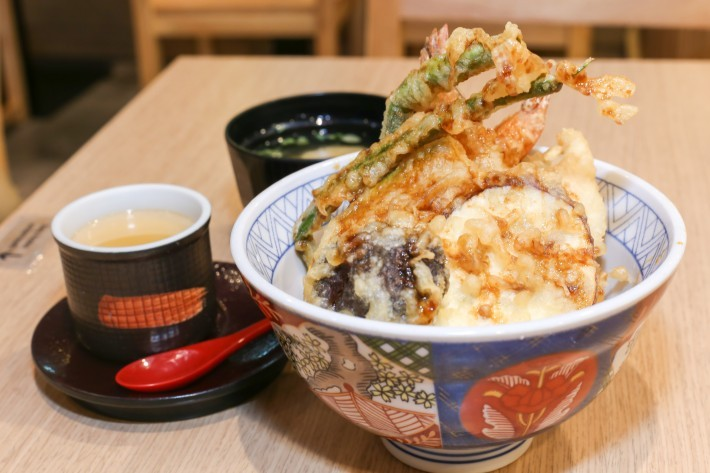 Tensho Japanese Speciality Tendon Mixed Tendon