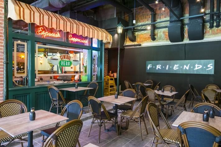 Themed Restaurants Central Perk Singapore