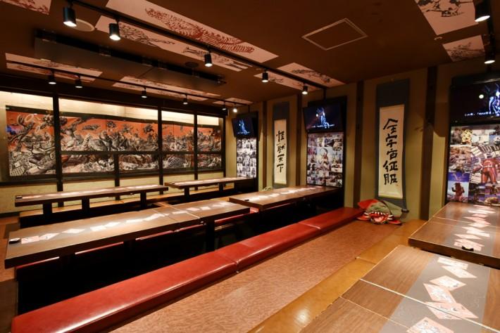 Themed Restaurants Kaiju Sakaba Kawasaki