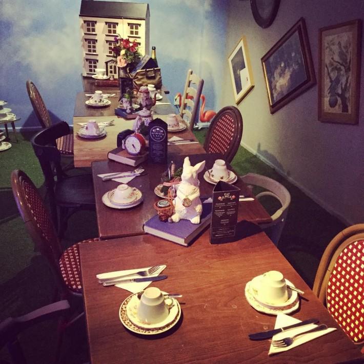Themed Restaurants Wonderland Cafe Nottingham