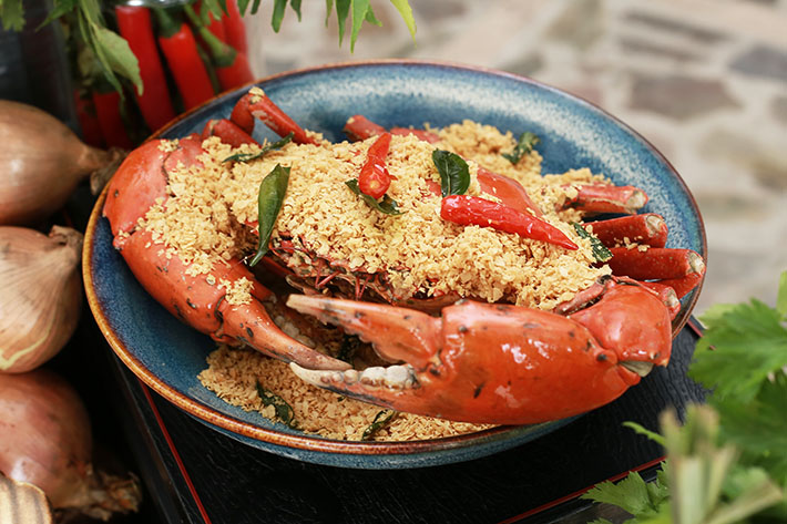 Cereal Crab