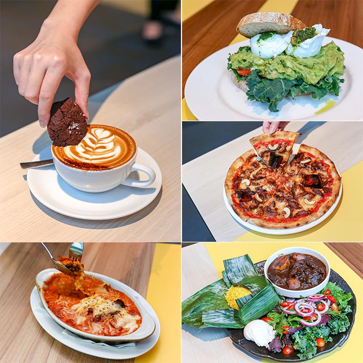 Kith Cafe Food