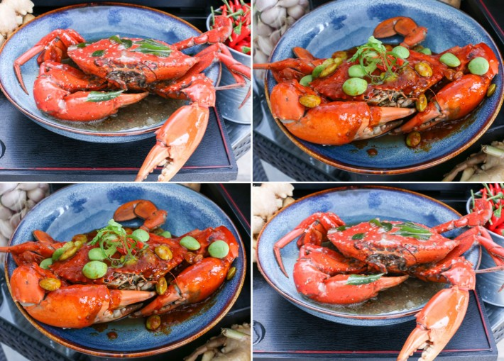 PARKROYAL on Beach Road Petai Black Pepper Crabs