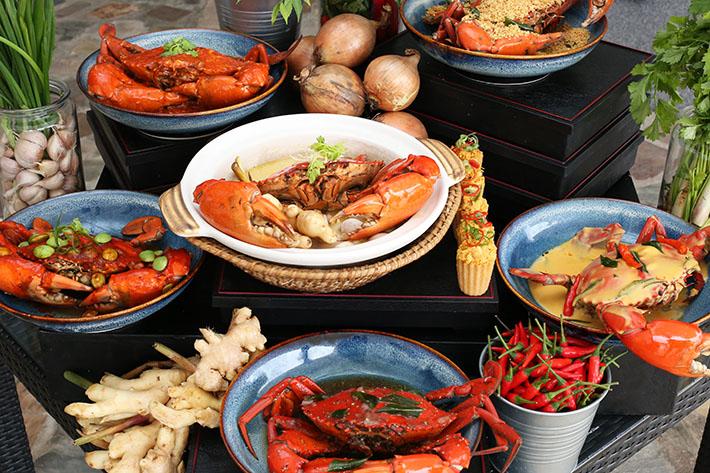 Parkroyal Crabs