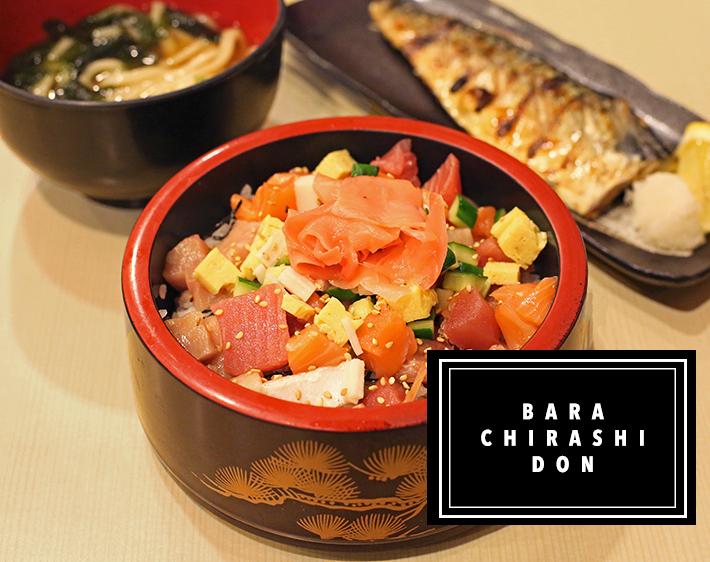 Sakuraya Bara Chirashi Don